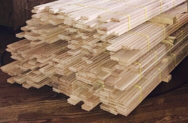 stacked hardwood